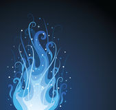 Ornate fire. Royalty Free Stock Photos