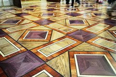 Ornate floor Royalty Free Stock Images