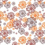 Ornate floral Stock Photo