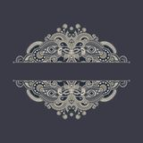 Ornate floral background Stock Photo