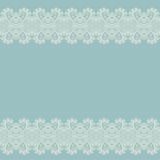 Ornate floral background with ornament stripe royalty free illustration