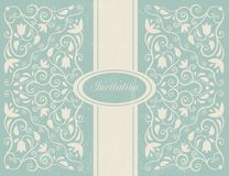 Ornate floral backgroung. Stock Images
