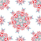 Ornate floral ethnic seamless pattern Stock Photos