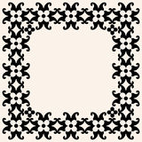 Ornate floral frame Royalty Free Stock Photography
