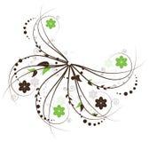 Ornate floral pattern Stock Photo