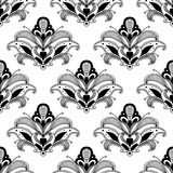 Ornate floral persian seamless pattern Royalty Free Stock Photo