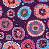 Ornate floral seamless pattern Royalty Free Stock Image