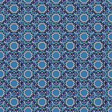 Ornate floral seamless pattern Royalty Free Stock Photos
