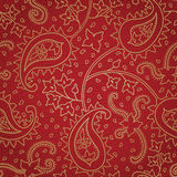 Ornate floral seamless texture in Eastern style. Royalty Free Stock Photo
