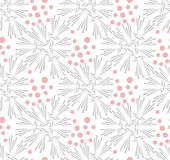 Ornate floral seamless texture, endless pattern Stock Photography
