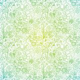 Ornate floral seamless texture, endless pattern with flowers. Se Royalty Free Stock Photos
