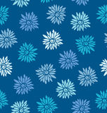 Ornate floral seamless texture. Royalty Free Stock Image