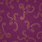 Ornate floral seamless texture. Stock Photo