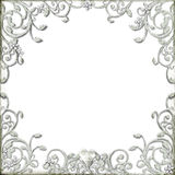 Ornate flourish border stock images