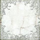 Ornate flourish border Royalty Free Stock Image