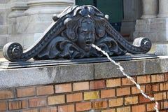 Ornate fountain outdoors Royalty Free Stock Photo