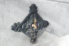 Ornate fountain tap from the Ottoman era. Istanbul Architectural Details: Ornate fountain tap from the Ottoman era Stock Photo
