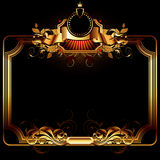 Ornate frame Stock Photos