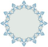 Ornate Frame. Oriental ornamental corner design for frame Royalty Free Stock Photo