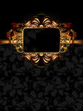 Ornate frame Stock Images