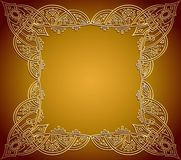 Ornate frame background Royalty Free Stock Photos