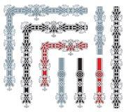 Ornate frame design elements Royalty Free Stock Images