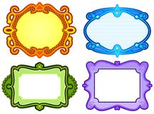 Ornate frame designs Stock Photo