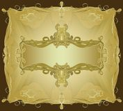 Ornate Frame II royalty free illustration