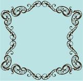 Ornate frame Stock Image
