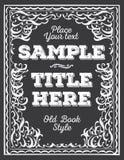 Ornate frame. Royalty Free Stock Photo