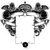 Ornate frame Stock Photography