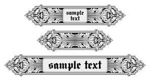 Ornate frame vector. Vector illustration of ornate frame Royalty Free Stock Photo