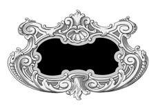 Ornate frame vector. Vector illustration of ornate frame Stock Image