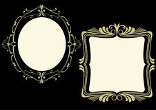 Ornate frames Stock Photos