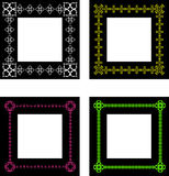 Ornate frames Royalty Free Stock Photos