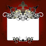 Ornate frames Stock Photography