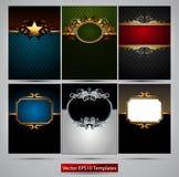 Ornate frames Stock Photo