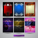Ornate frames Royalty Free Stock Images