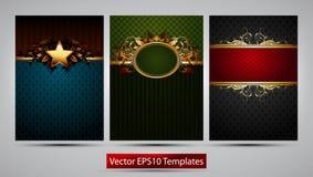 Ornate frames Royalty Free Stock Photos