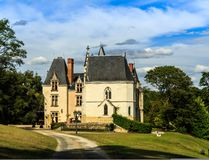 Ornate French chateau Royalty Free Stock Images