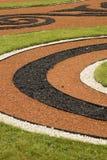 Ornate garden path in Russia Stock Image
