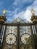 Ornate Gate Royalty Free Stock Images