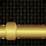 Gold mesh Stock Photography