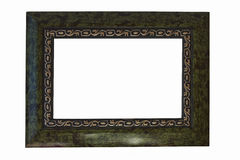 Ornate Gold and green Frame  Stock Photography