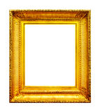 Ornate gold photo frame Royalty Free Stock Photo