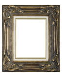 Ornate gold picture frame Stock Images
