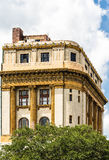 Ornate Gold Trim on Old Shriners Temple Royalty Free Stock Image