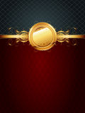 Ornate golden frame Royalty Free Stock Photos