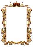 Ornate heraldic frame Stock Photos