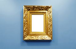 Ornate golden picture frame Royalty Free Stock Photo